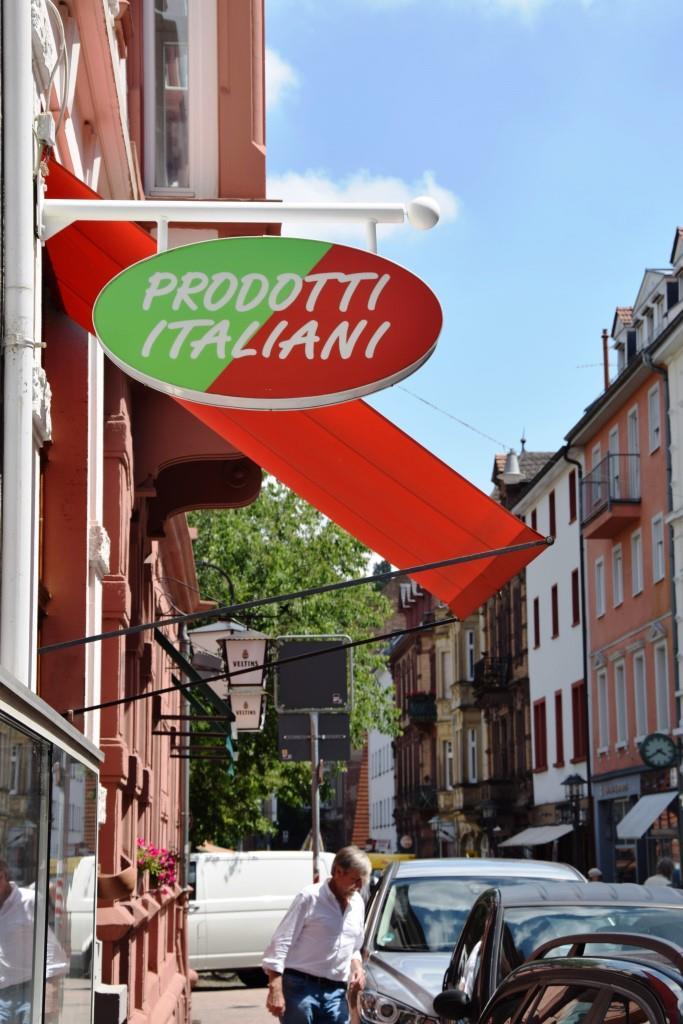 Ein Stück italienische Lebensart in Heidelberg - das Prodotti Italiani
