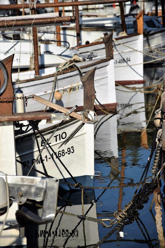 Die Fischerboote, bereit für die nächste Ausfahrt