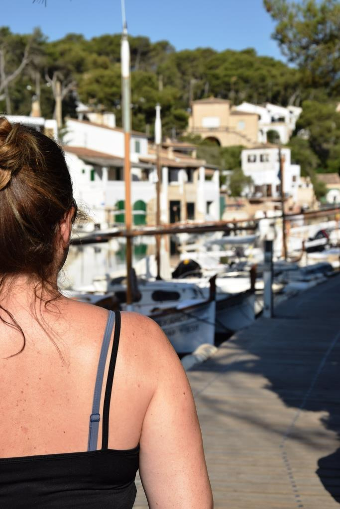 Bloggerin, verliebt in Cala Figuera