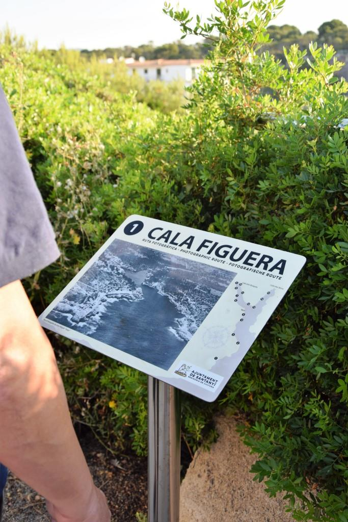 Und los geht's, entlang der Scenic Route durch die Bucht von Cala Figuera - ein Must See für Fotografen