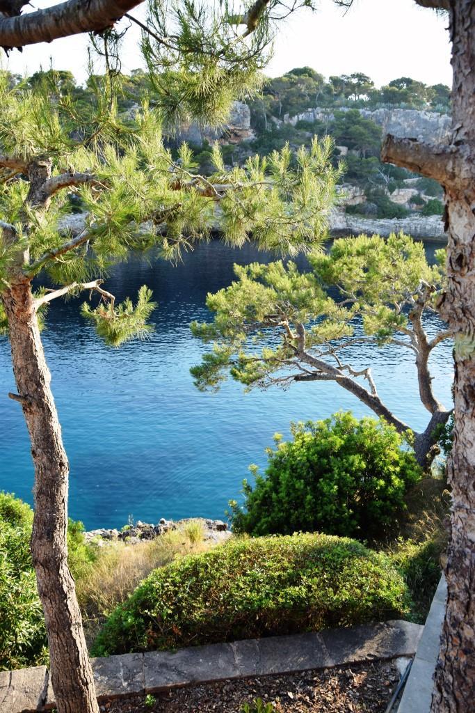 Blick auf die schöne Bucht - von den romantischen Restaurants in Cala Figuera, Mallorca