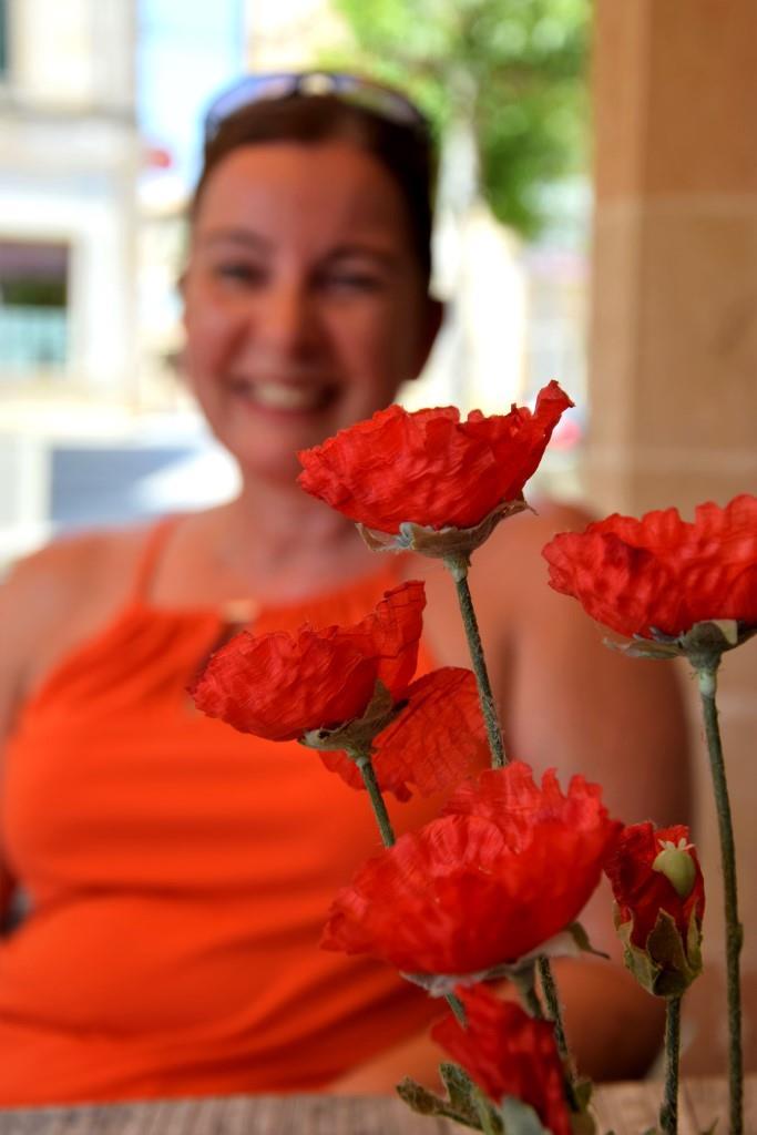 Flowergirl und Bäckerin