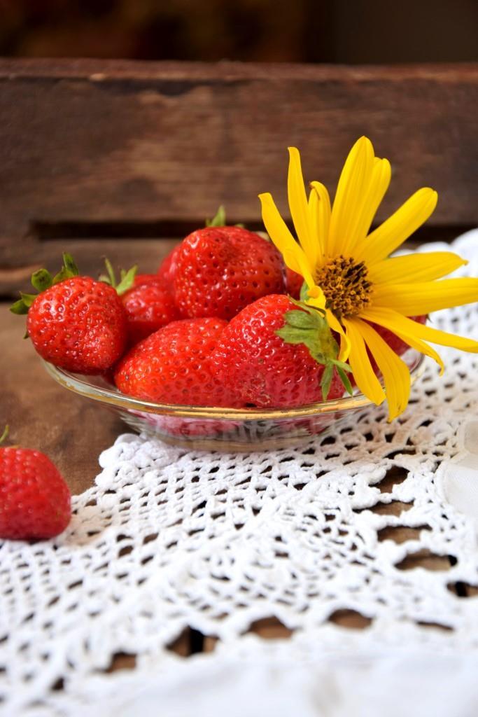 Eat me - die letzten Erdbeeren der Saison