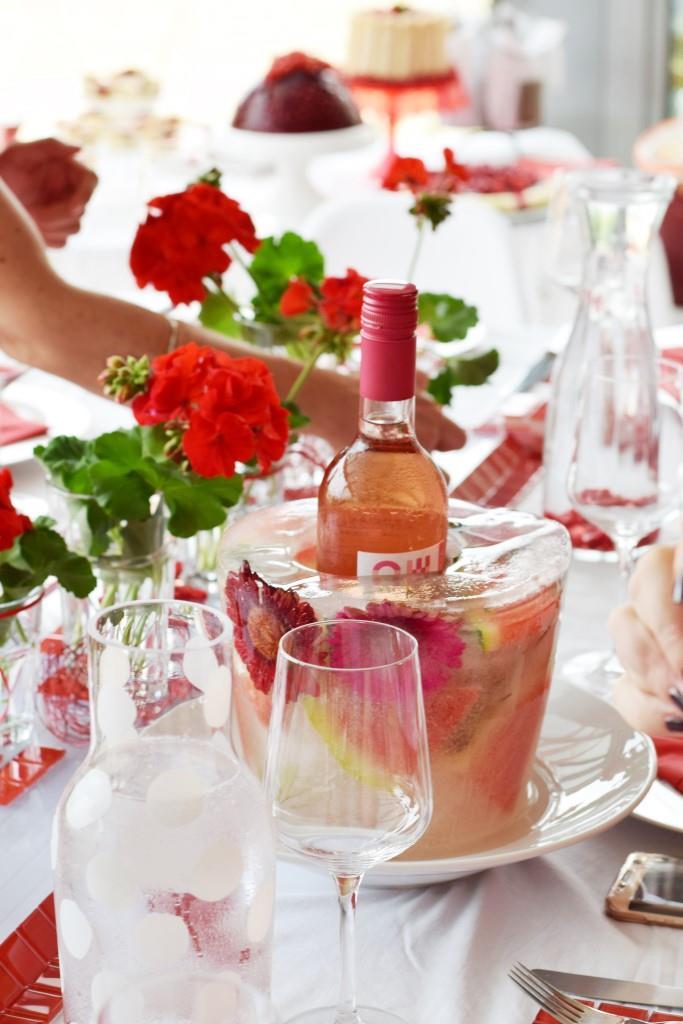 Red Dinner Impressionen