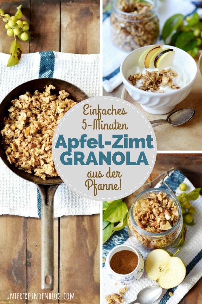 Das schnellste Granola der Welt ... 3, 2, 1 - Crunch!