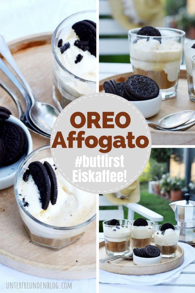 #butfirsteiskaffee - OREO Affogato, perfekt für kleine süße Kaffeepausen