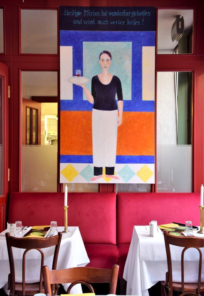 Man kann sich kaum sattsehen - im Restaurant Orphee, Regensburg