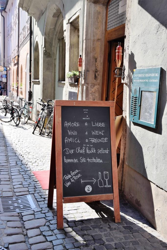 Amore, Vino, Amici = Lieblingsitaliener in Regensburg!