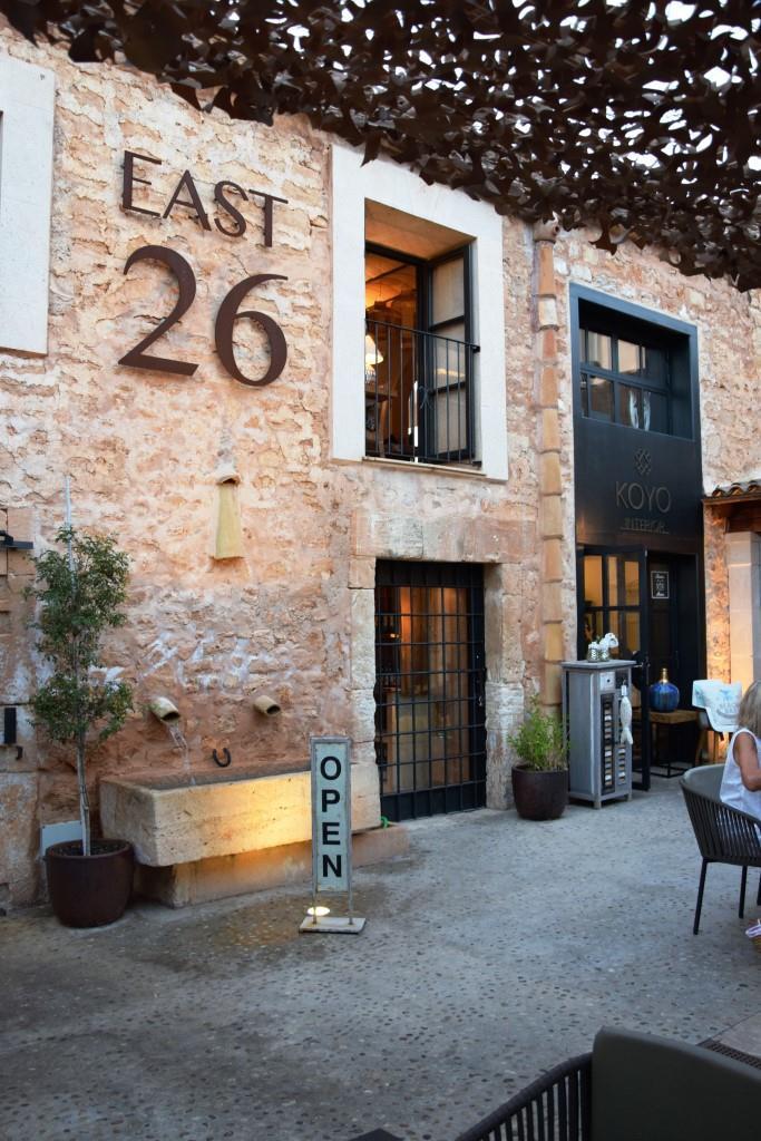 Restauranttipp East 26 Santanyi Mallorca - Unterfreundenblog