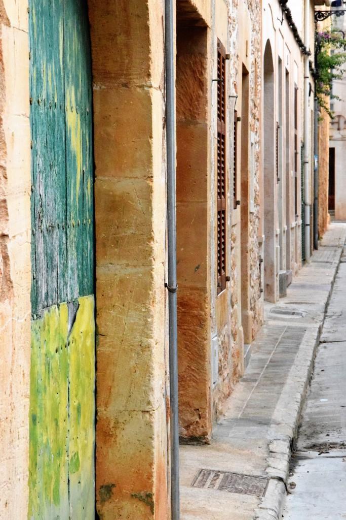 Ruhige Seitenstraße in Santanyi, Mallorca