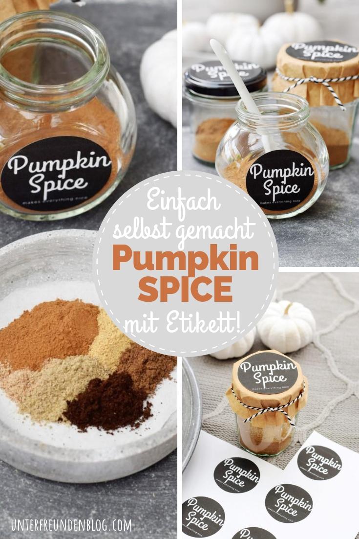 Pumpkin Spice - Unterfreundenblog - Pinterest