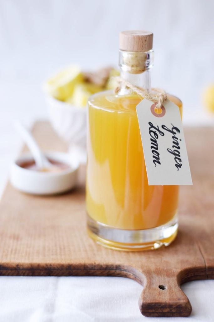 Zitronen-Ingwer-Sirup / Foodblogbilanz 2019