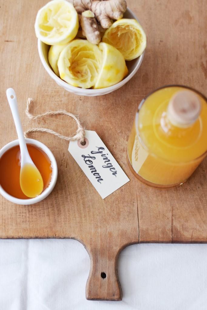 Ginger Lemon Sirup - wohltuend und lecker