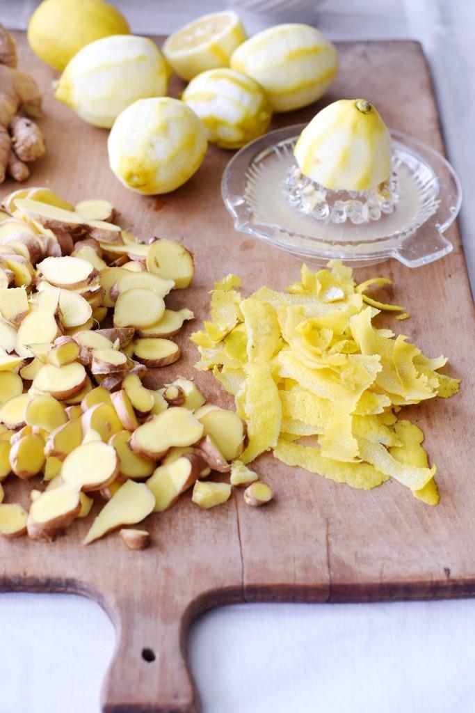 Zitronen und Ingwer - natürlich gegen Erkältungen