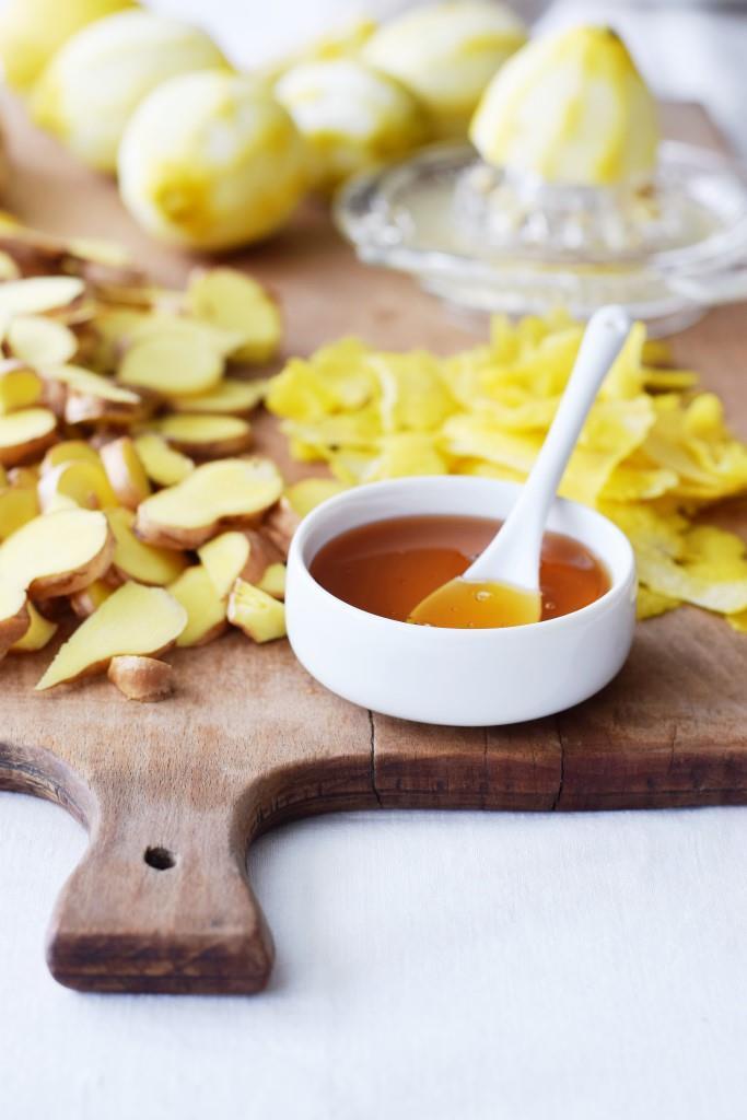 Zitronen, Ingwer, Honig - ein Powertrio gegen Erkältungsbeschwerden