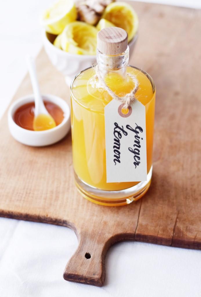 Ingwer Zitronen Honig Sirup - Geschenkideen für Foodies - Unterfreundenblog