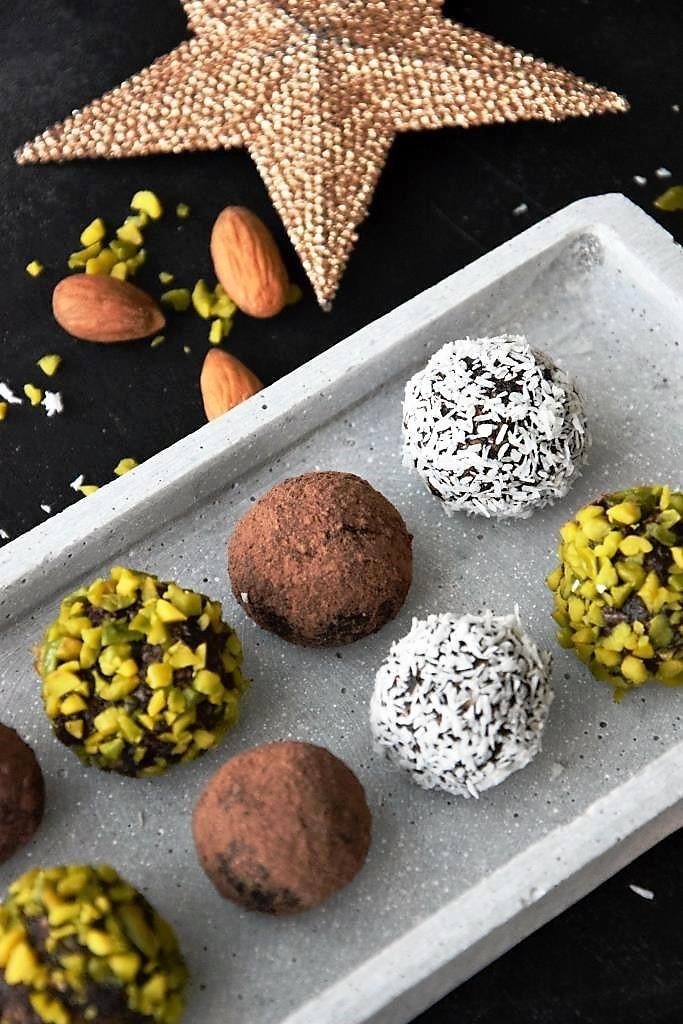 Rezept für vegane Blitztrüffel - Geschenkideen für Foodies - Unterfreunden Blog