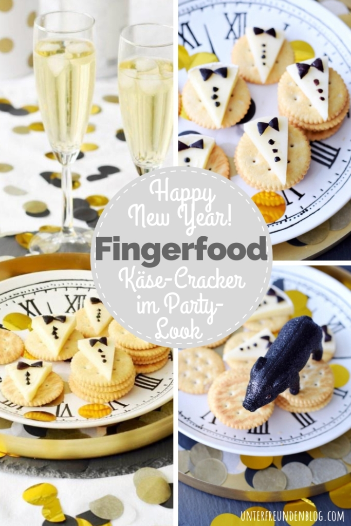 Fingerfood im Party-Outfit für Silvester