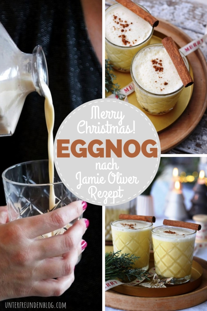 It is the season ... for Eggnog à la Jamie Oliver ... so yummy