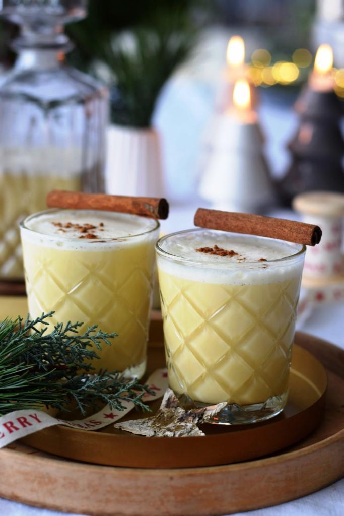 Have a very yummy christmas! Eggnog gehört in USA und UK zur Weihnachtszeit einfach dazu!