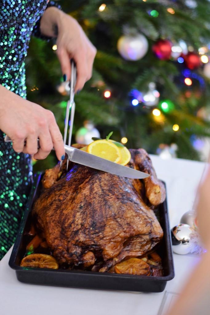 Ein Klassiker zur Weihnachtszeit - der Turkey