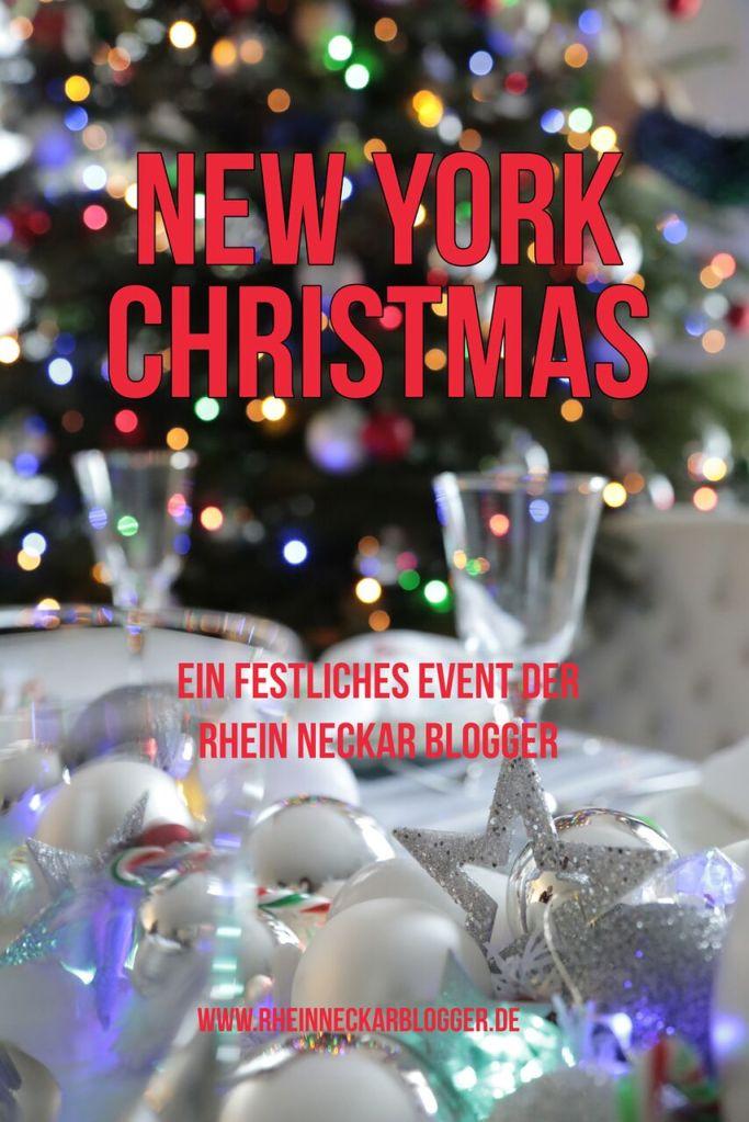 New York Christmas - ein Blog-Event der Rhein-Neckar-Blogger