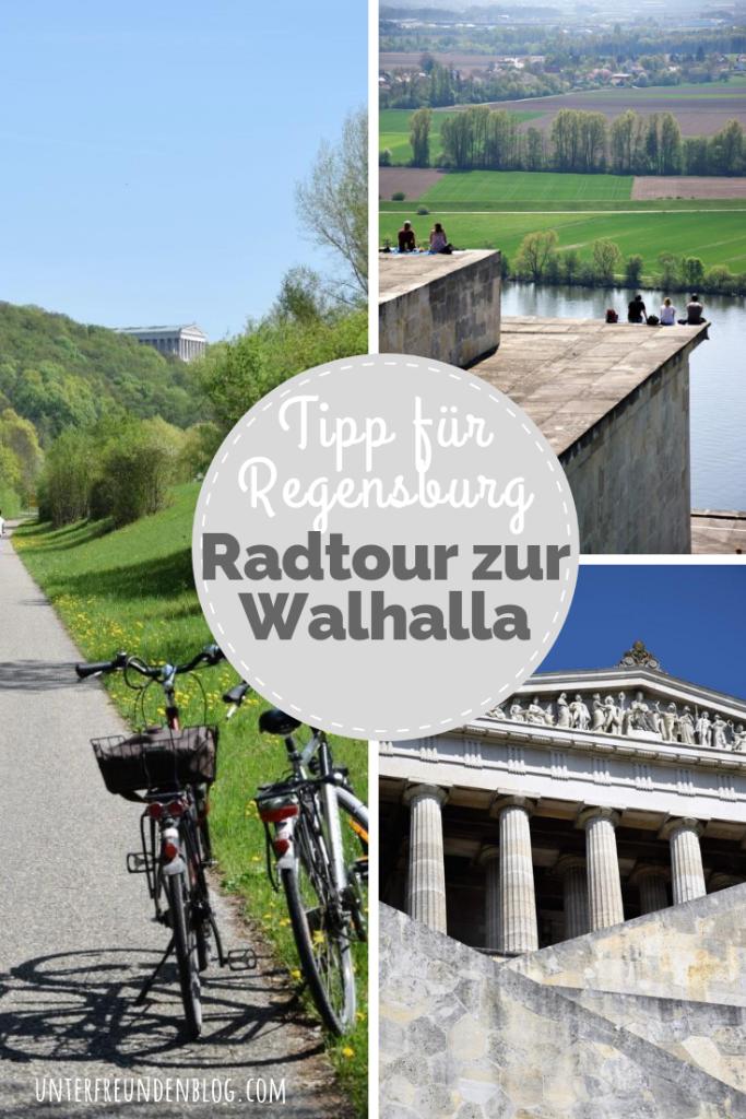 Ein Wochenende in Regensburg - Ausflugstipp: Radtour zur Walhalla