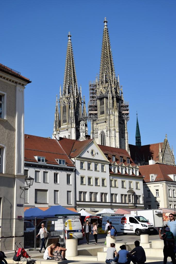 Regensburg, Du Schöne! Marktplatz & Dom