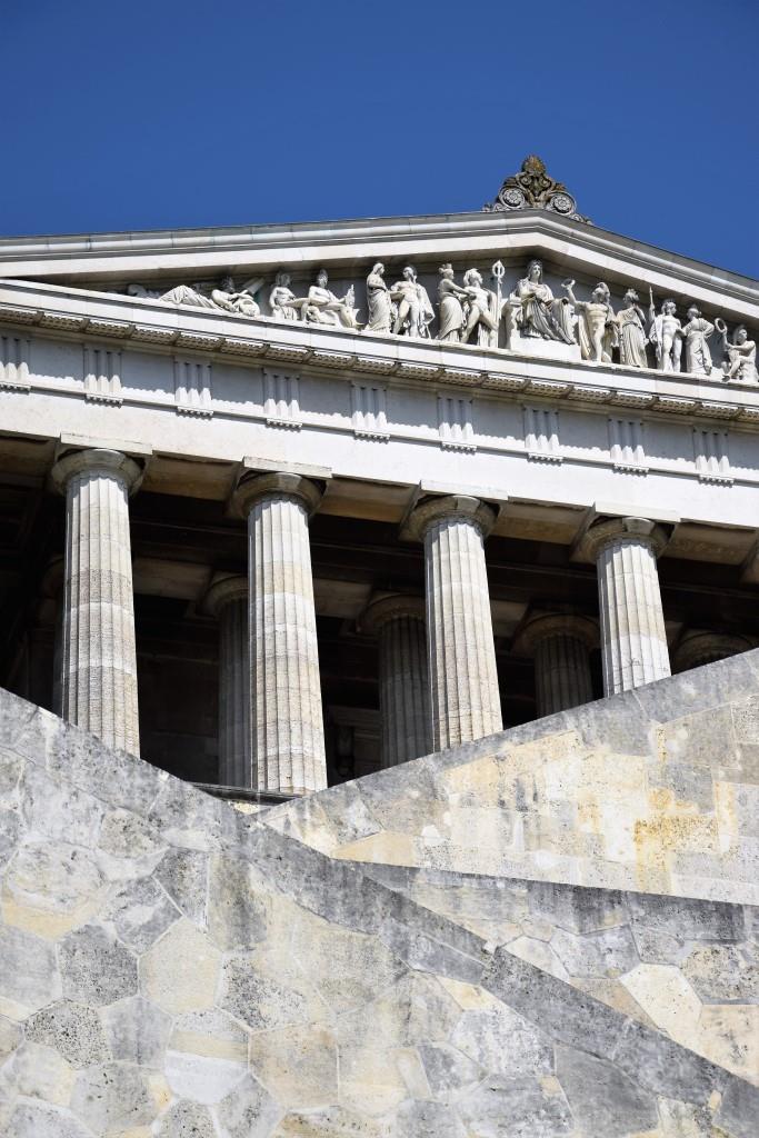 Wunderschön & beeindruckend - die Gedenkstätte Walhalla bei Regensburg an der Donau