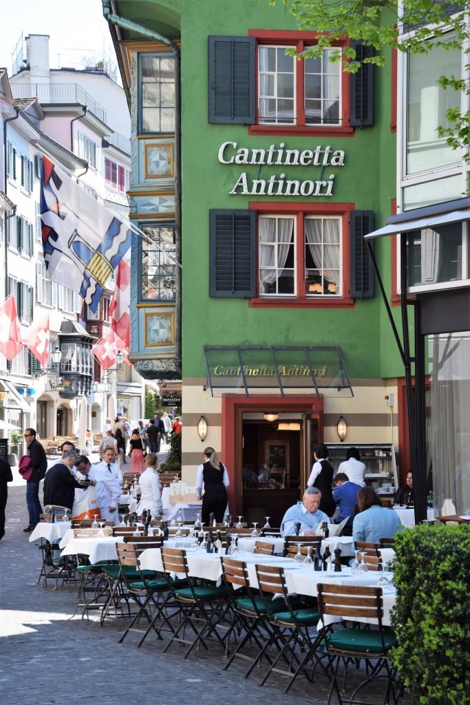Zürich Altstadt Restaurant