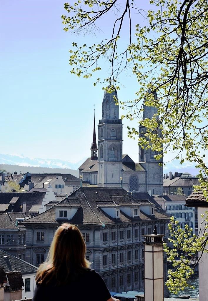 Zürich Aussicht Lindenhof
