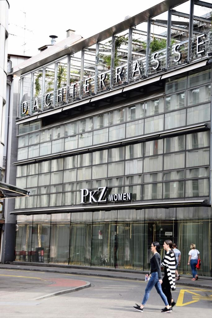 Restaurant Dachterrasse Zürich