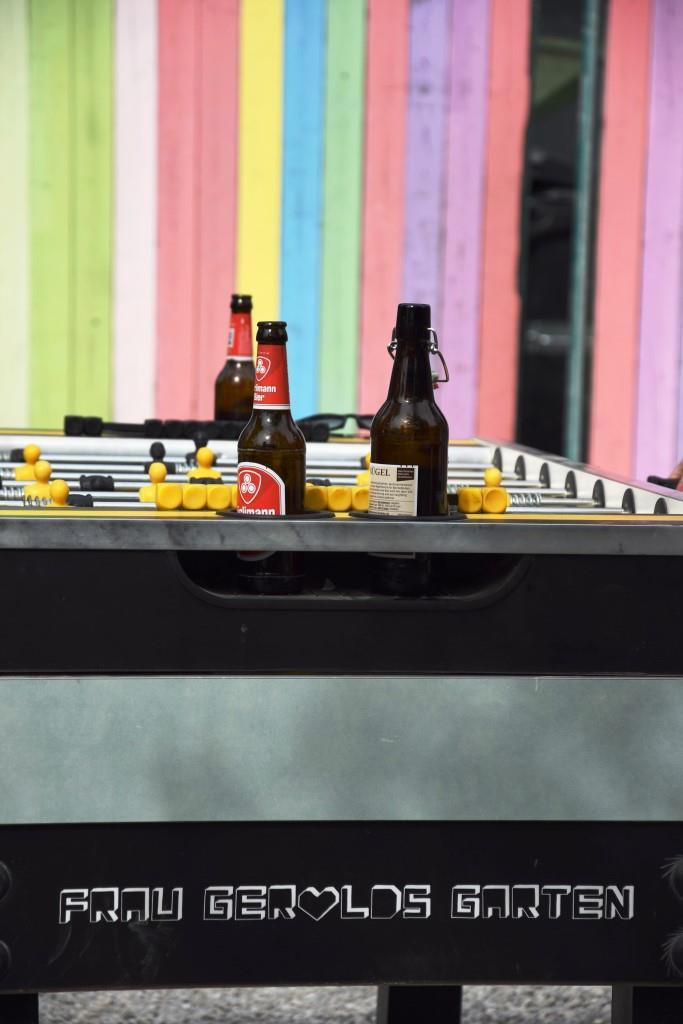 Tischkicker Bier Farben