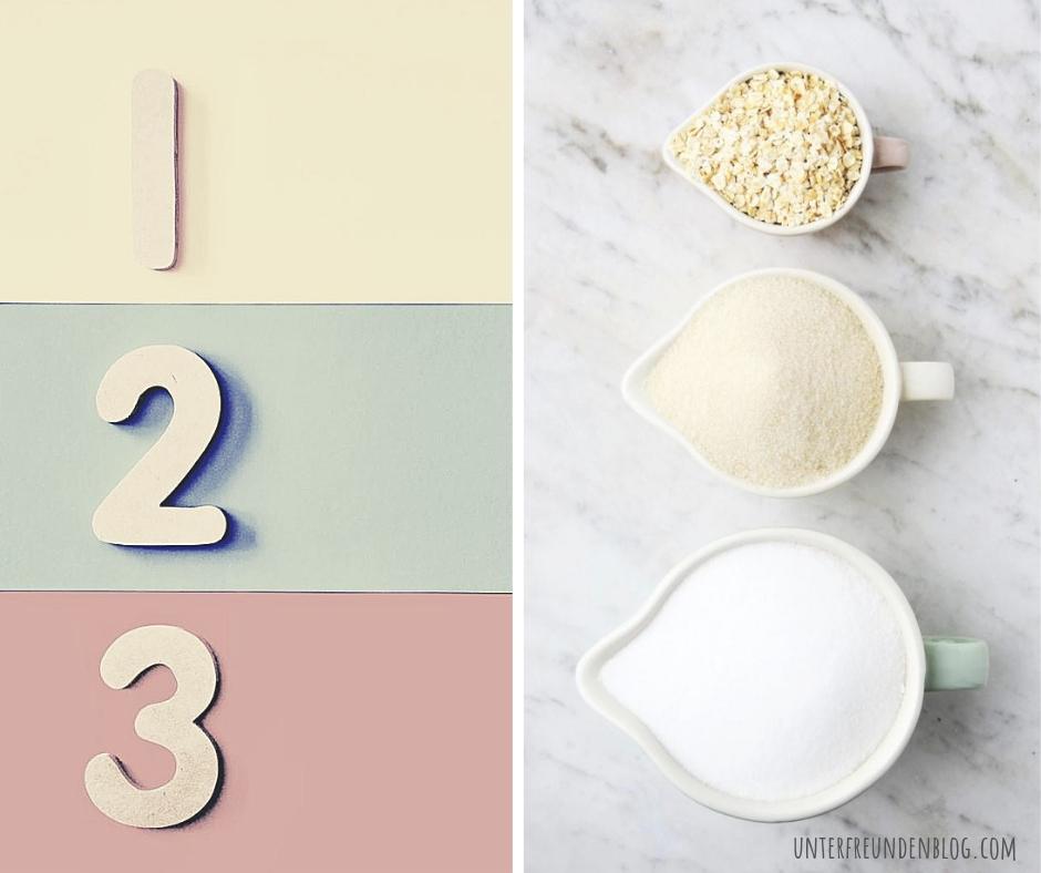 1, 2, 3 Zutaten Rezepte