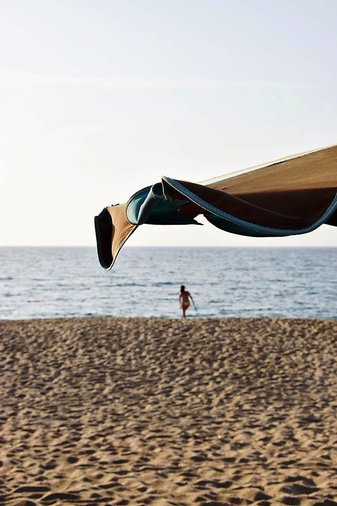Strand Sonnenschirm Sommer