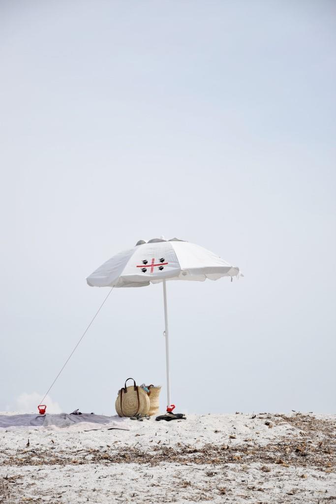 Sonnenschirm Strand Sardinien