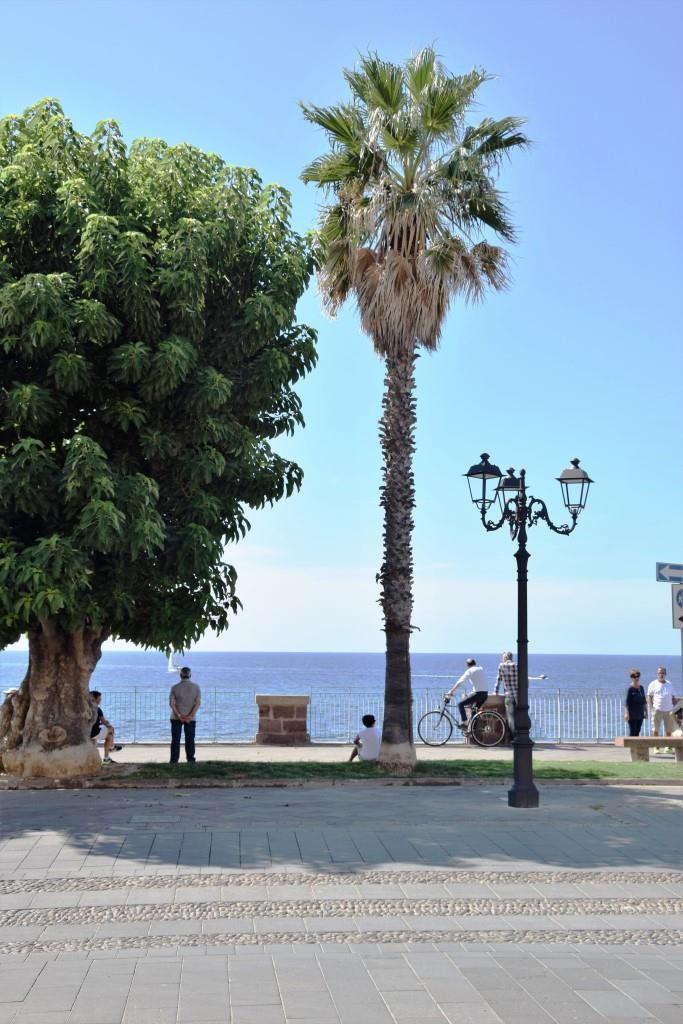Alghero Promenade Sardinien
