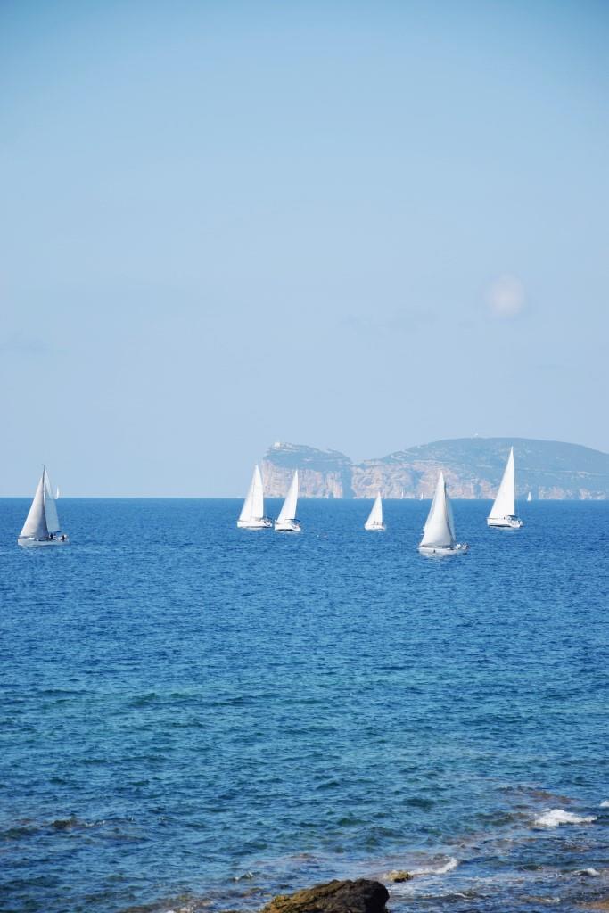 Alghero Sardinien Segeln