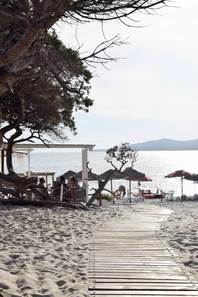 Strand Alghero Sardinien