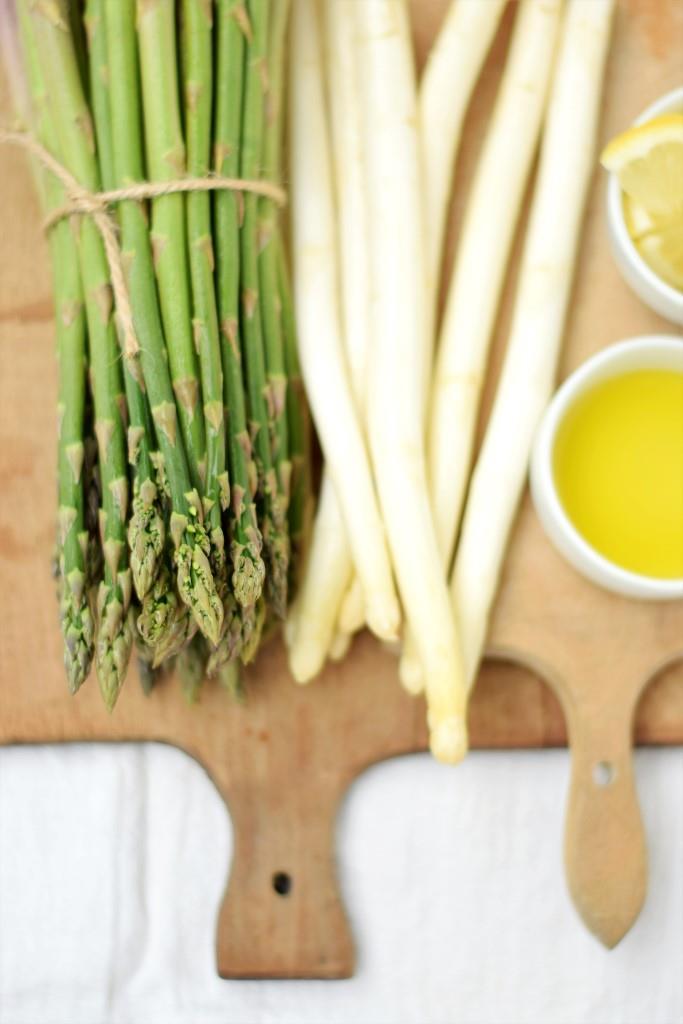 Spargel Rezept Olivenöl