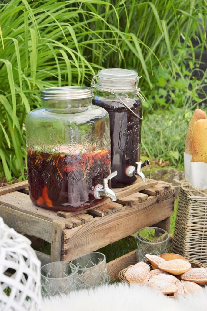 Picknick Getränke Ideen
