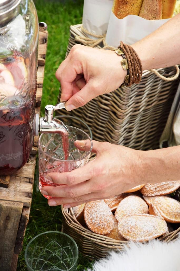 Picknick Getränke Sommer