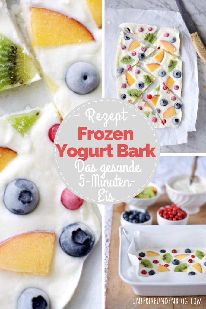 Frozen Yogurt Bark