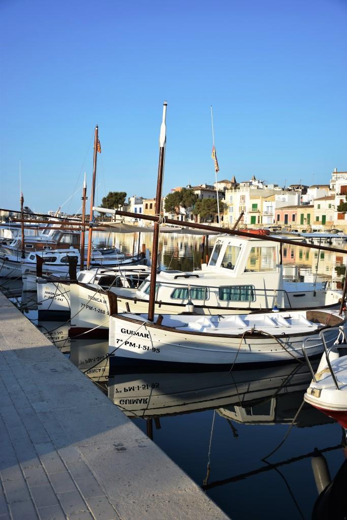 Fischerboote Hafen Portocolom
