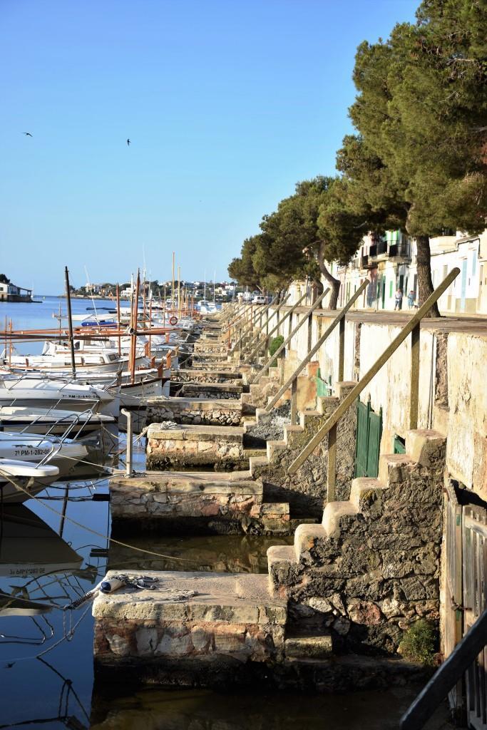 Steinstufen Hafen Mallorca