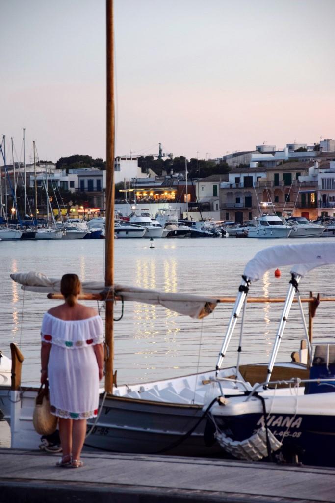 Abendstimmung Hafen Portocolom