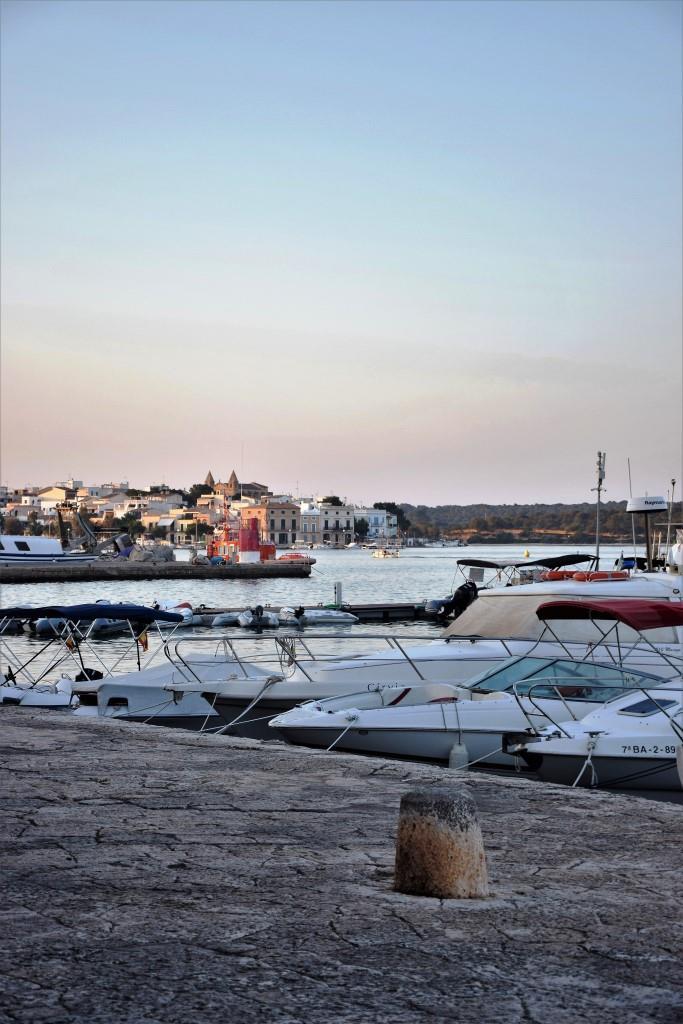 Dämmerung Portocolom Mallorca