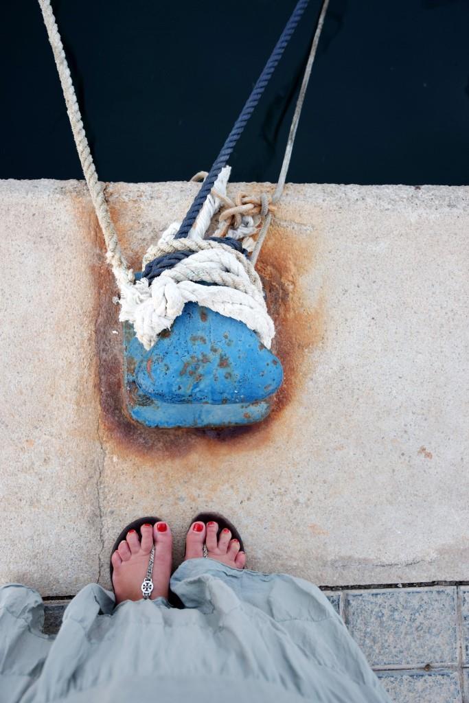 Hafen Füße Mallorca