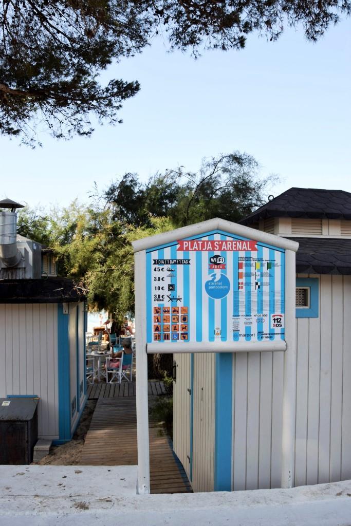 S'Arenal Beach Portocolom Mallorca
