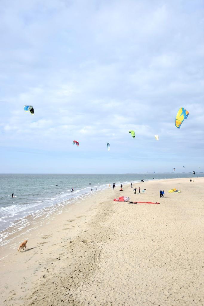 Strand Brouwersdam Zeeland